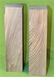 "Blank #736 - Black Walnut Solid Turning Blanks ~ 2 Each ~ 3"" x 3"" x 12"" ~ $39.99"